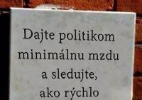 Dajte politikom minimálnu mzdu!!!