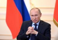 Putinova cesta a jeho plan .