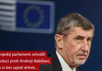 Rezolúcia EP proti Babišovi
