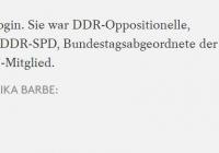 Disidentka nemeckej CDU