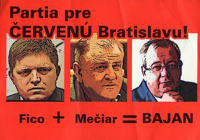 """Politický turista Vladimír Bajan, od Mečiara po """"nezávislosť""""."""