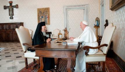 Čestný doktorát Bartolomejovi od Vatikánu