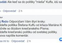 Anna Záborská má názor, mám ho tiež…