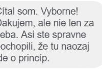 Hlavné správy anonymne reagujú na event Jána Baráneka