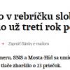 Slovensko a rebríček slobody tlače