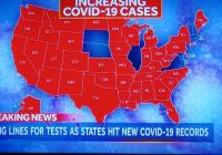 Covid sa vraj v Kalifornii šíri testami