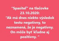 Slovenskí a českí vedci k testom