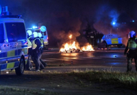 Nepokoje vo Švédsku po spálení Koránu ultrapravicovými aktivistami