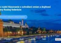 Zmeny Ústavy Ruskej federácie pripravené na všeľudové hlasovanie