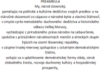 My, národ slovenský…