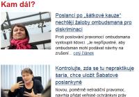 Podobnosti českej a slovenskej ochrankyne práv a liberálna demokracia…