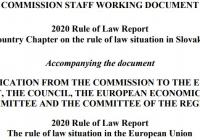 Správa o stave demokracie, štátu a práva v EÚ