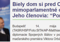 Orbán v Bielom dome. Guardian a NY Times