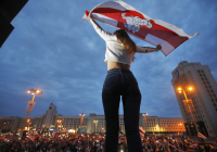 Tikhanovskaya ohlásila vlastný spôsob rozvoja Bieloruska