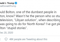 Trump dementuje správy o stannom práve a nových voľbách
