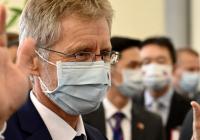 Predseda Českého senátu (sa) Vystrčil na Taiwan