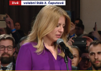 Slovensko má prezidentku