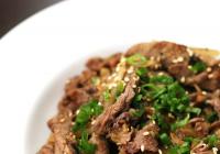 Bulgogi – kórejské jedlo z hovädzieho mäsa