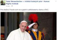 Vatikán sa pootvára gejom a lesbám