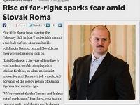Marian Kotleba je vraj príčinou rastúceho strachu medzi Rómami.