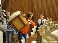 Incident v parlamente