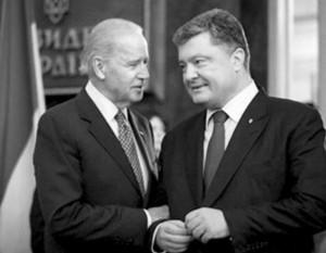 Biden a Porošenko