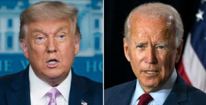 Biden a Trump