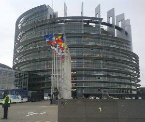 Budova Európskeho parlamentu v Štrasburgu