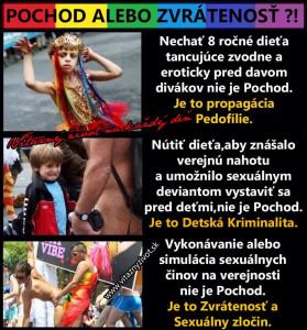 Dúhová sexualita plus pedofília