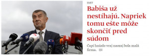 Denník SME informuje - darebáci