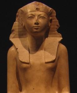 Hatshepsut - možná adoptívna matka Mojžiša