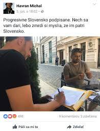 Havran podpisuje Progresívbne Slovensko