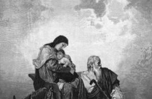 Jozef, Mária a Ježiš