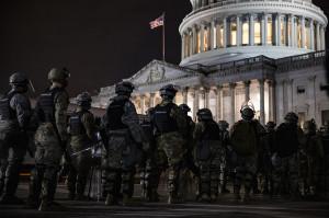 Nočná ostraha Kapitolu Národnou gardou