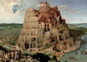 Peter Brueghel (Brechel) Babylonská veža