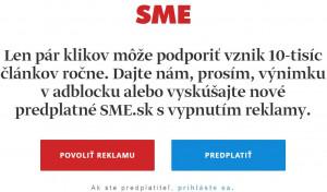 SME a reklama