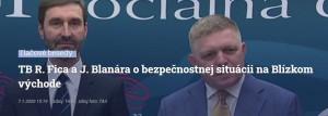 Tlačovka Fico, Blanár