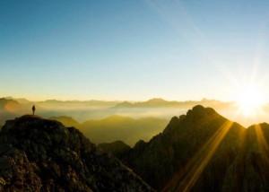 Muž na hore Sinai