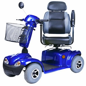 Elektrický invalidný skúter